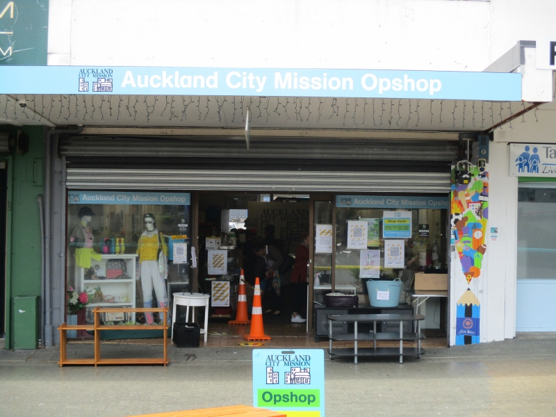 Auckland City Mission Op Shop
